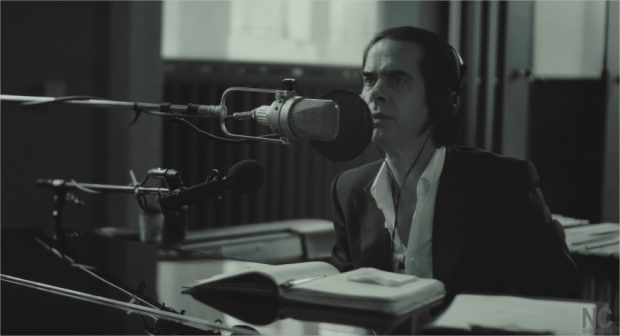 "Nick Cave dans ""One More Time with Feeling"""