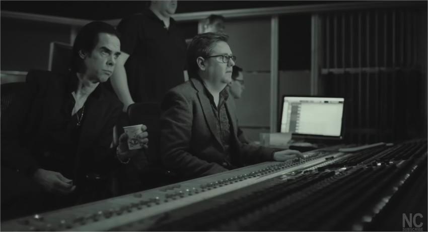 Nick Cave en studio