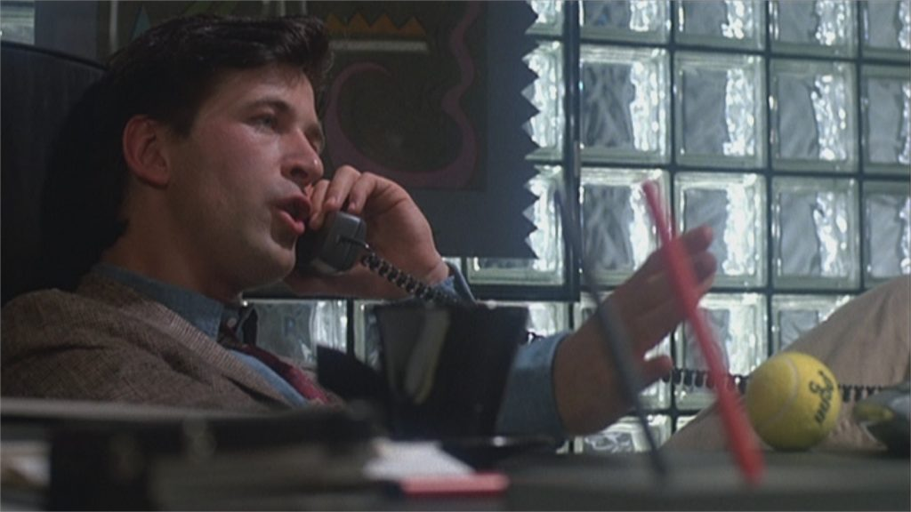 "Alec Baldwin dans ""Talk Radio"""