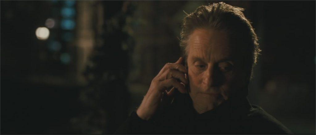 "Michael Douglas dans ""Solitary Man"""