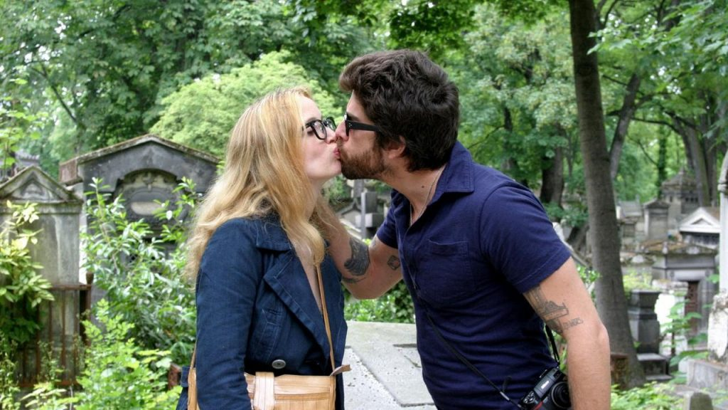 "Julie Delpy et Adam Goldberg dans ""Two Days in Paris"""