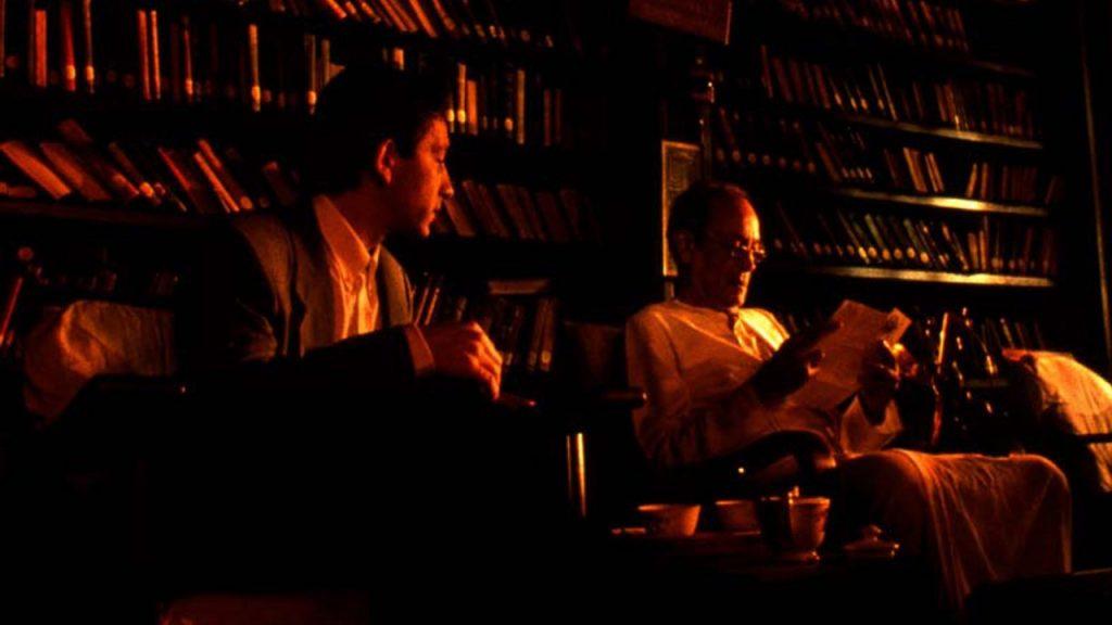 """Jean-Hugues Anglade et Iftekhar dans """"Nocturne indien"""""""