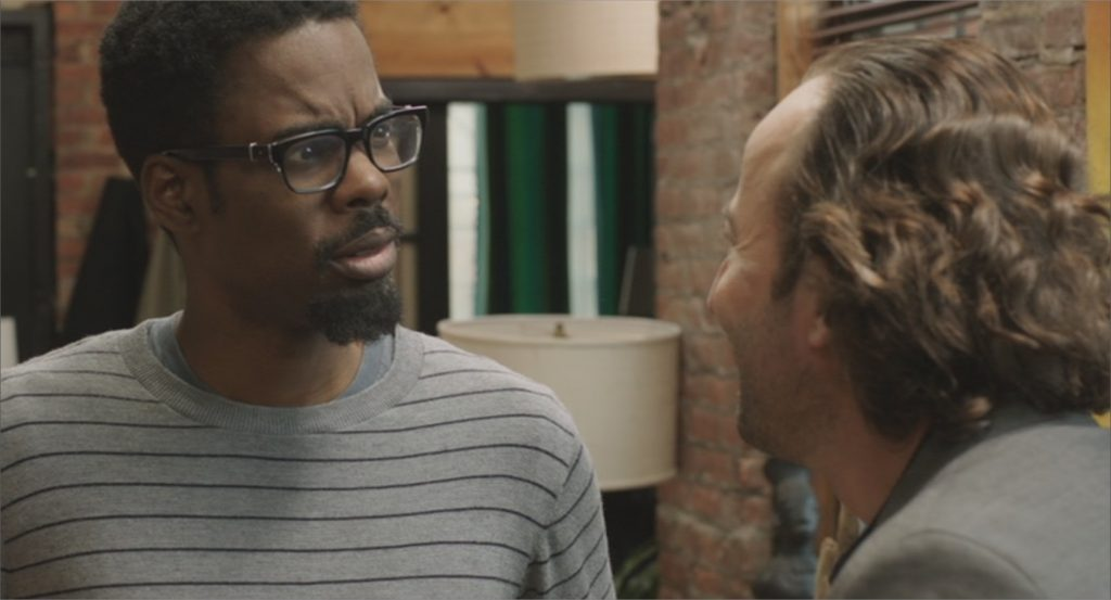 "Chris Rock et Alexandre Nahon dans ""Two Days in New York"""