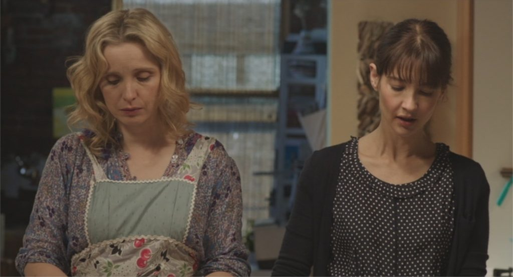 "Julie Delpy et Alexia Landeau dans ""Two Days in New York"""