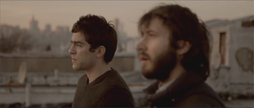 "MacLeod Andrews et Evan Dumouchel dans ""They Look Like People"""