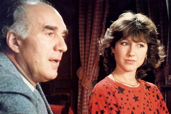 """Michel Piccoli et Nathalie Baye dans """"Une Étrange affaire"""""""