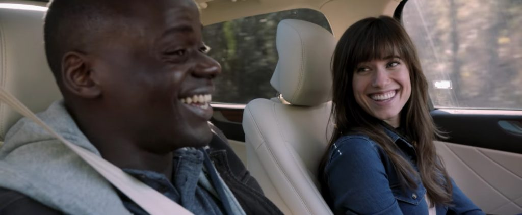"Allison Williams et Daniel Kaluuya dans ""Get Out"""