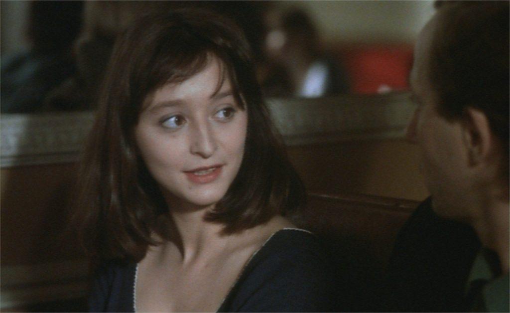 "Judith Henry et Fabrice Luchini dans ""La Discrète"""