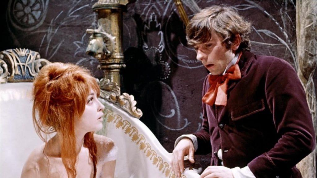 "Sharon Tate et Roman Polanski dans ""Le Bal des vampires"""