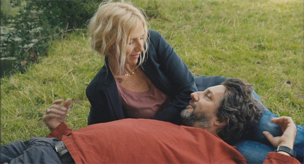 """Sandrine Kiberlain et Bruno Podalydes dans """"Comme un avion"""""""