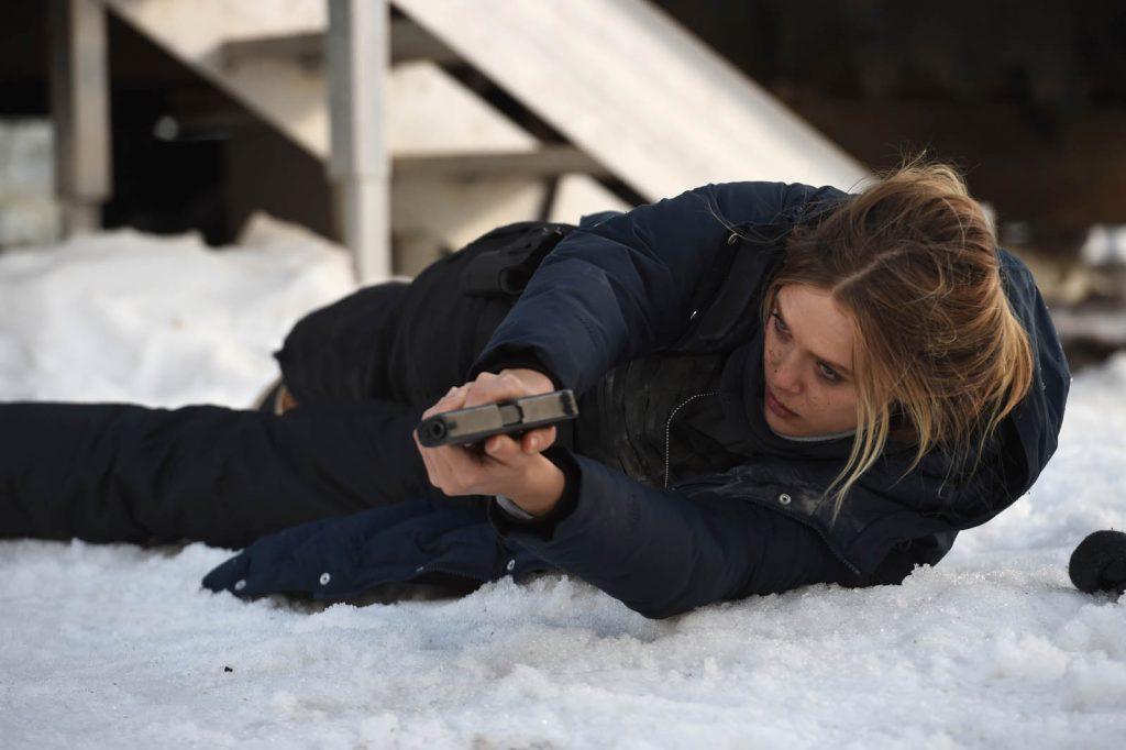 """Elizabeth Olsen dans """"Wind River"""""""