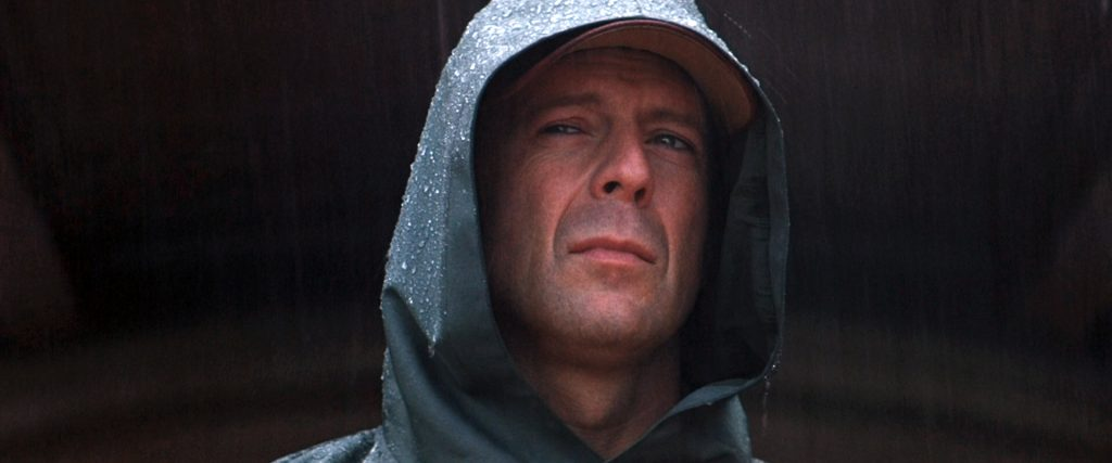 "Bruce Willis dans ""Incassable"""