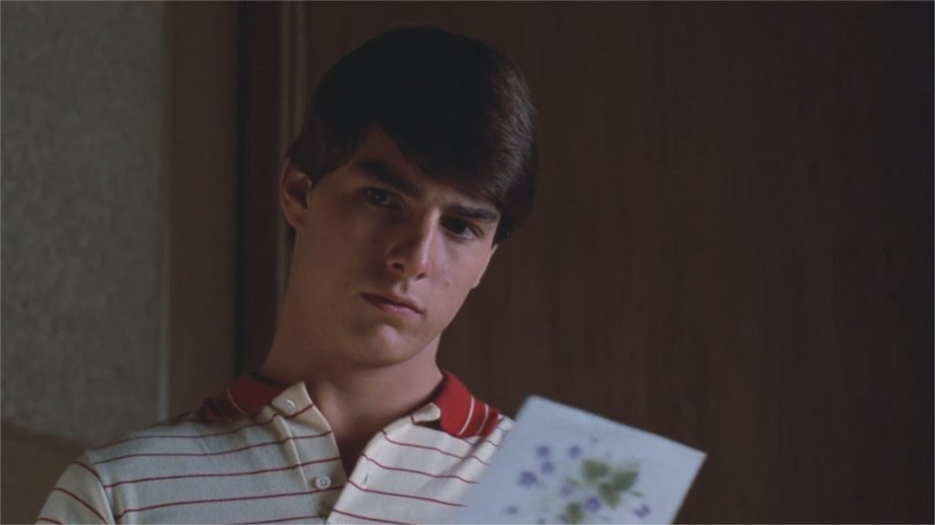 "Tom Cruise dans ""Risky Business"""