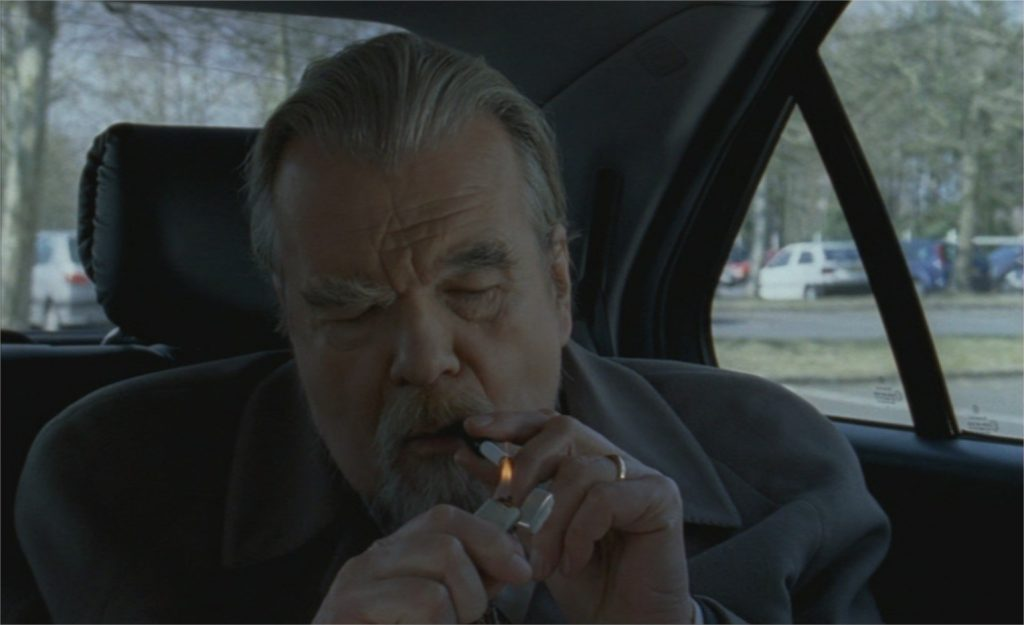 "Michael Lonsdale dans ""La Question humaine"""