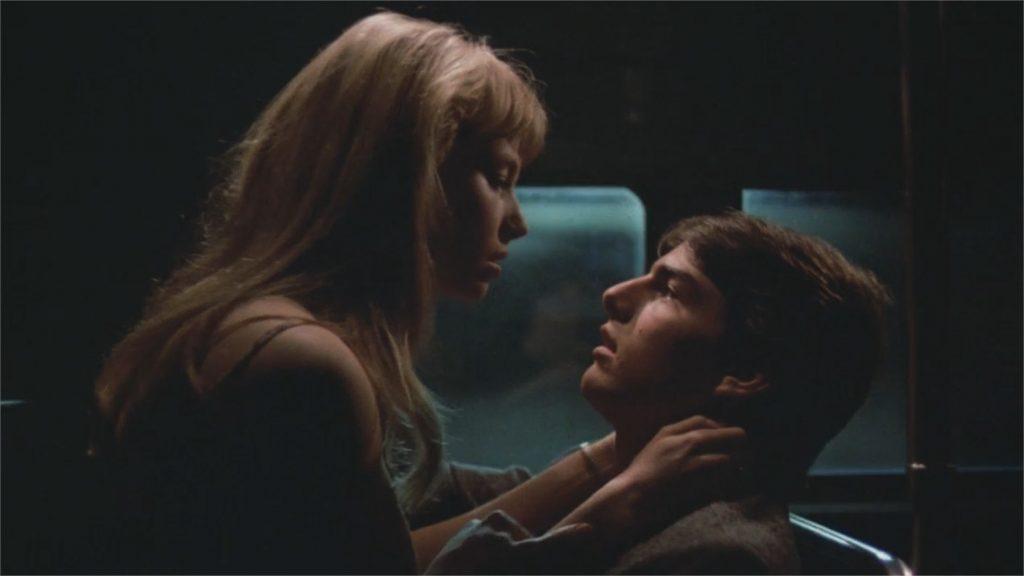 """Rebecca De Mornay et Tom Cruise dans """"Risky Business"""""""