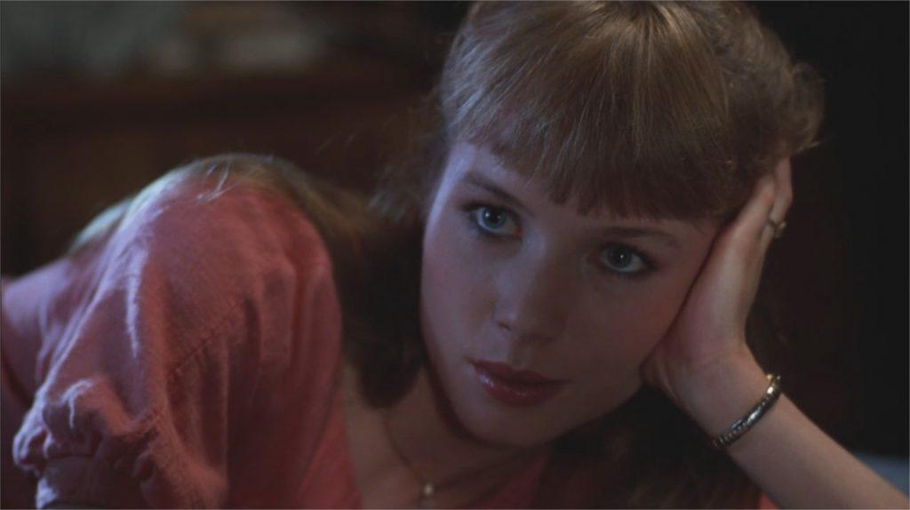 """Rebecca De Mornay dans """"Risky Business"""""""