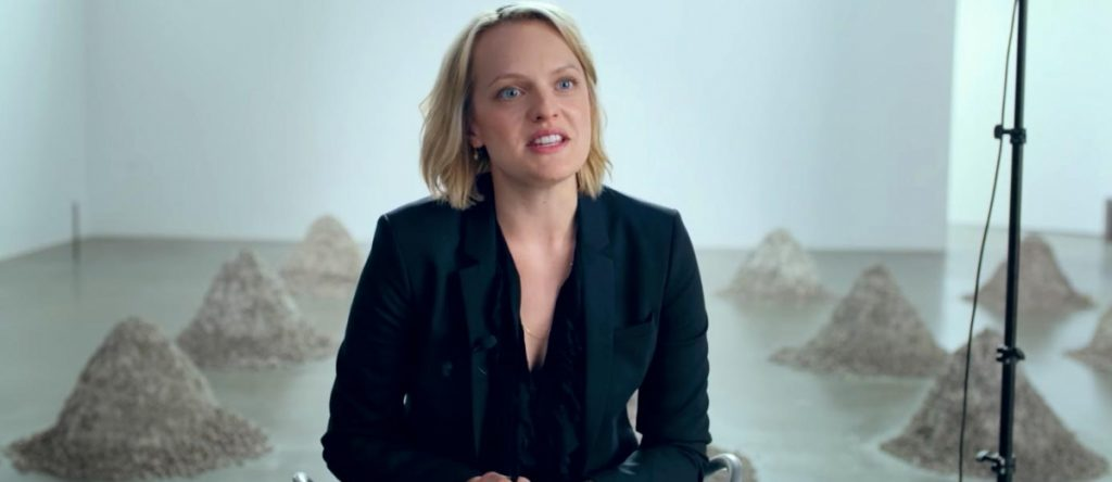 "Elisabeth Moss dans ""The Square"""