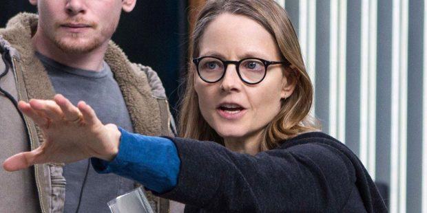 """Jodie Foster sur le tournage de """"Black Mirror"""""""