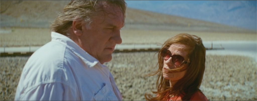 "Gérard Depardieu et Isabelle Huppert dans ""Valley of Love"""