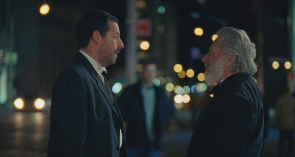 "Adam Sandler et Dustin Hoffman dans ""The Meyerowitz Stories"""
