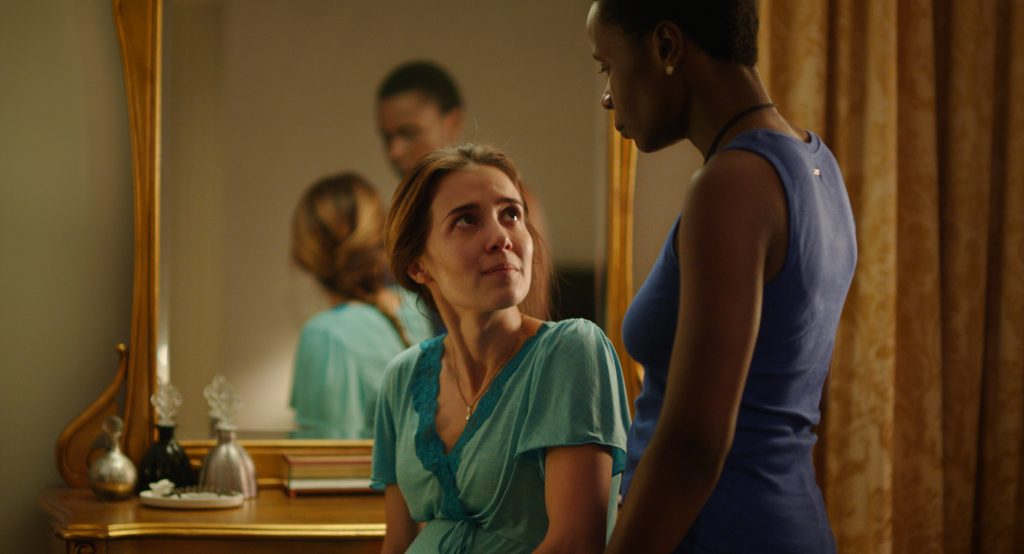 """Isabél Zuaa et Marjorie Estiano dans """"Les bonnes manières"""""""