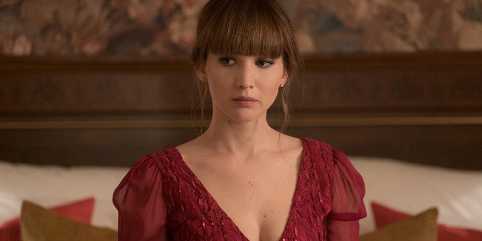 "Jennifer Lawrence dans ""Red Sparrow"""