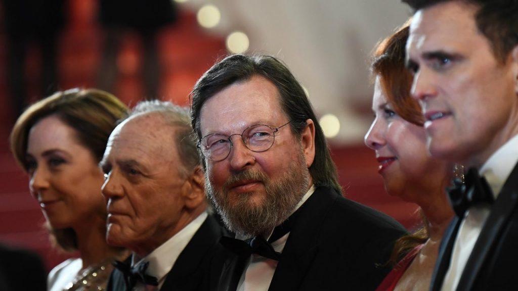Lars Von Trier au Festival de Cannes 2018