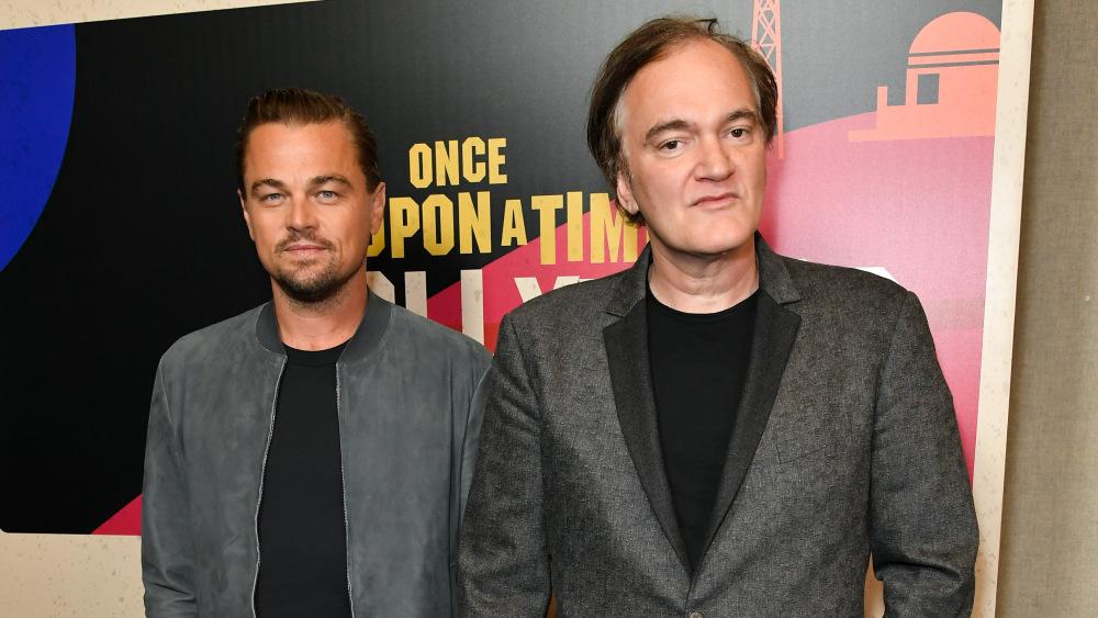 Leonardo DiCaprio et Quentin Tarantino
