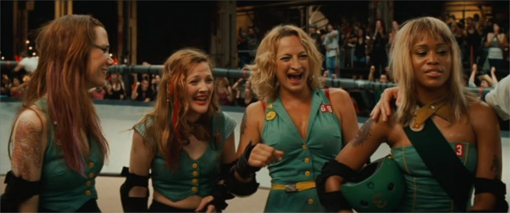 "Drew Barrymore, Zoë Bell et Eve dans ""Bliss"" (""Whip It"", 2009)"