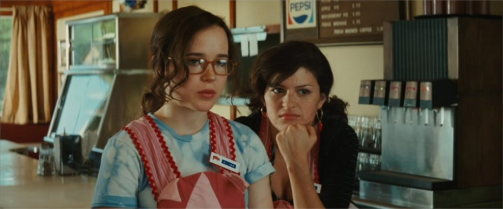 "Ellen Page et Alia Shawkat dans ""Bliss"" (""Whip It"", 2009)"