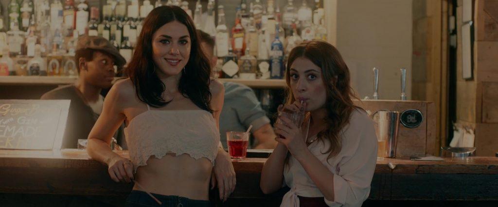 "Kelly Wenham et Georgia Groome dans ""Double Date"" (2017)"