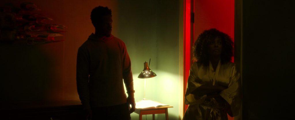 """Tory Kittles et Vanessa Bell Calloway dans """"Dragged across concrete"""""""