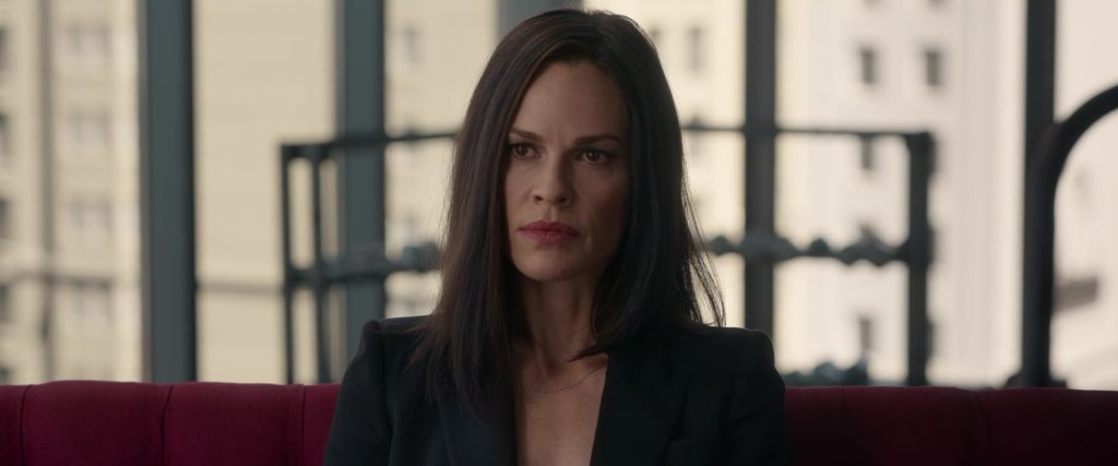 Hilary Swank dans The Hunt