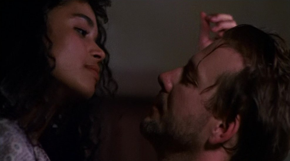 Lisa Bonet et Mickey Rourke dans Angel Heart