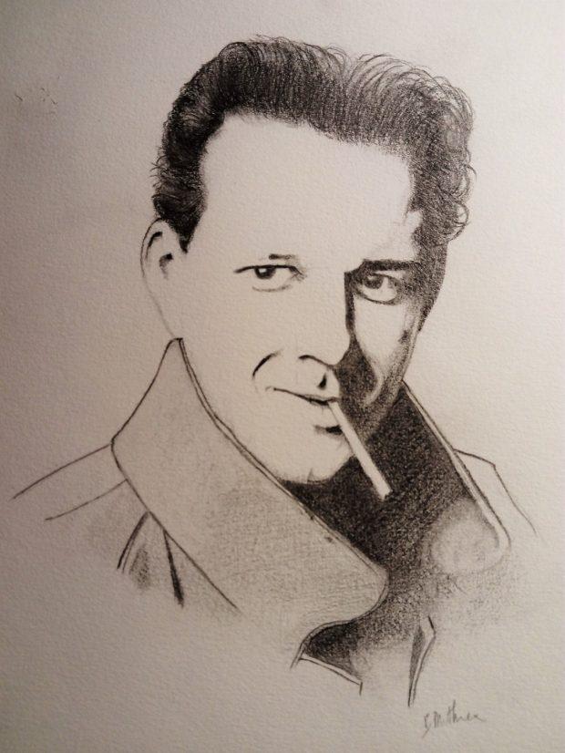 Portrait de Mickey Rourke