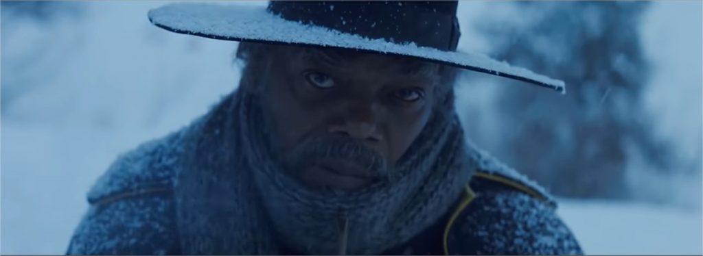 Samuel L. Jackson dans Les Huit salopards