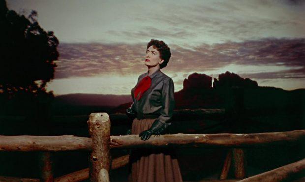 """Joan Crawford dans """"Johnny Guitare"""""""