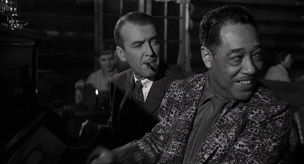 James Stewart et Duke Ellington