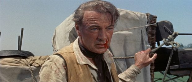 """Gary Cooper dans """"L'Homme de l'ouest"""""""