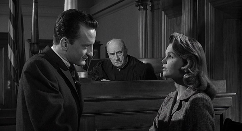George C. Scott, Lee Remick, Joseph N. Welch dans Autopsie d'un meurtre
