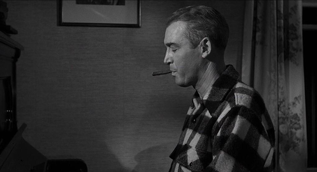 James Stewart dans Autopsie d'un meurtre
