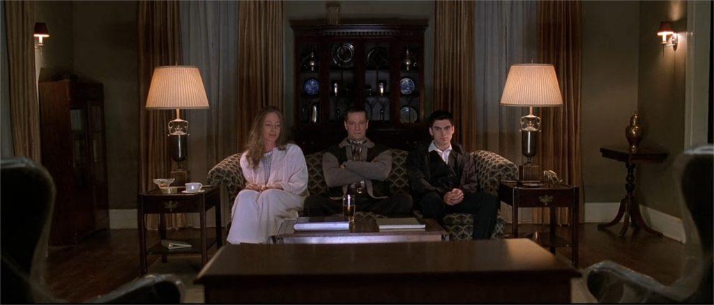 """Allison Janney, Chris Cooper et Wes Bentley dans """"American Beauty"""""""