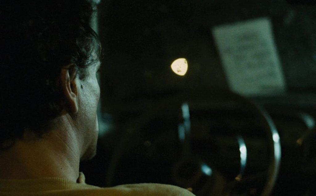 """Gene Bervoets dans """"L'Homme qui voulait savoir"""" (1988)"""