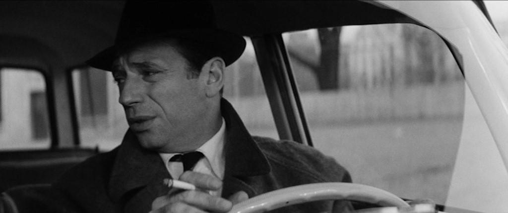 "Yves Montand dans ""Compartiment tueurs"" (1965)"