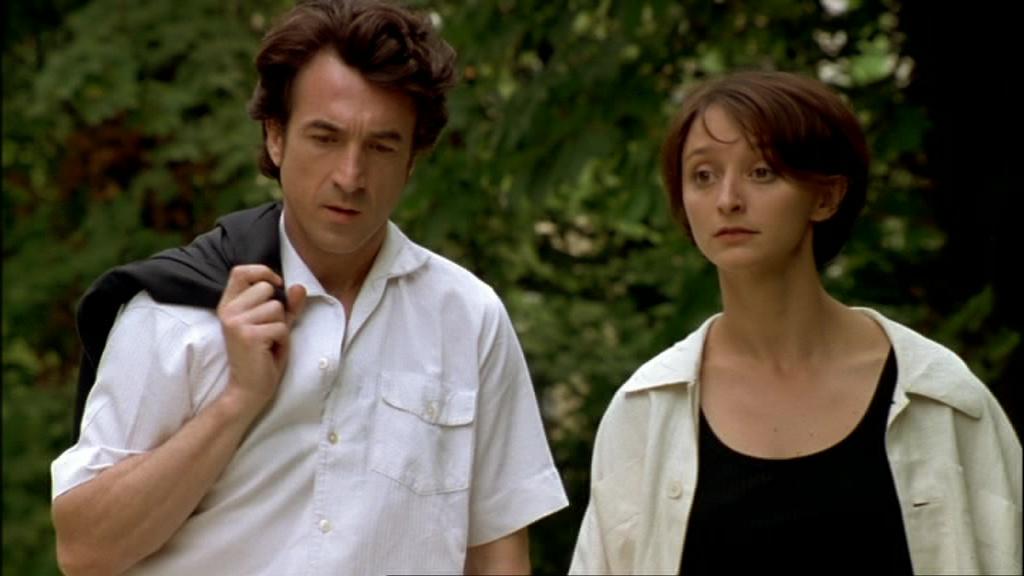 """François Cluzet et Judith Henry dans """"Les Apprentis"""" (1995)"""